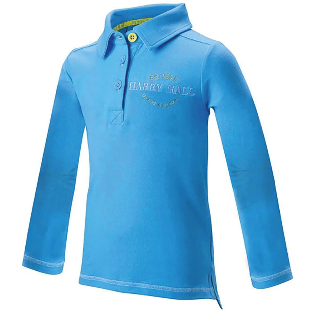 Harry Hall Arley Polo Shirt in Blue